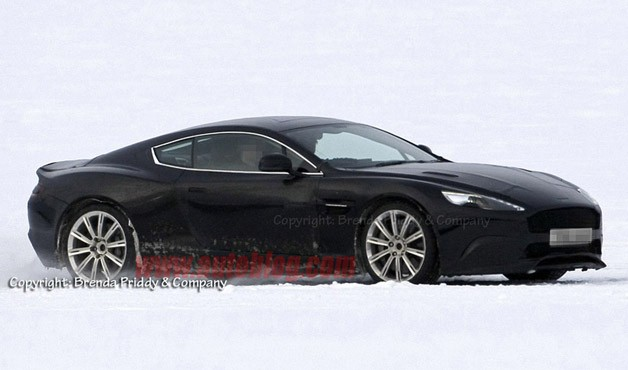 2013 Aston Martin DB9 prototype