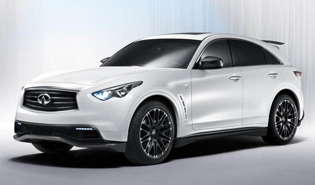 Infiniti FX Sebastian Vettel concept - front three-quarter view