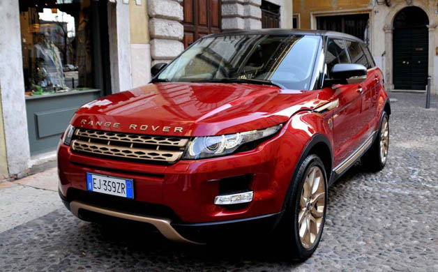 Range Rover as well as Aznom qualification the special Evoque for Bollinger champagne