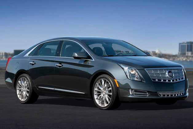 2013 Cadillac XTS - front three-quarter view