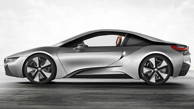 BMW i8 Rendering