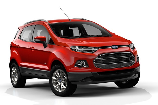 2013 Ford Ecosport production model - front three-quarter view