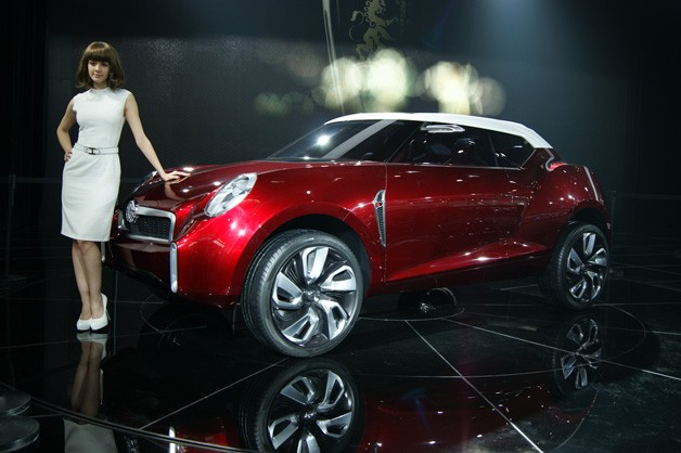 MG Icon Concept - Live at Beijing 2012 debut