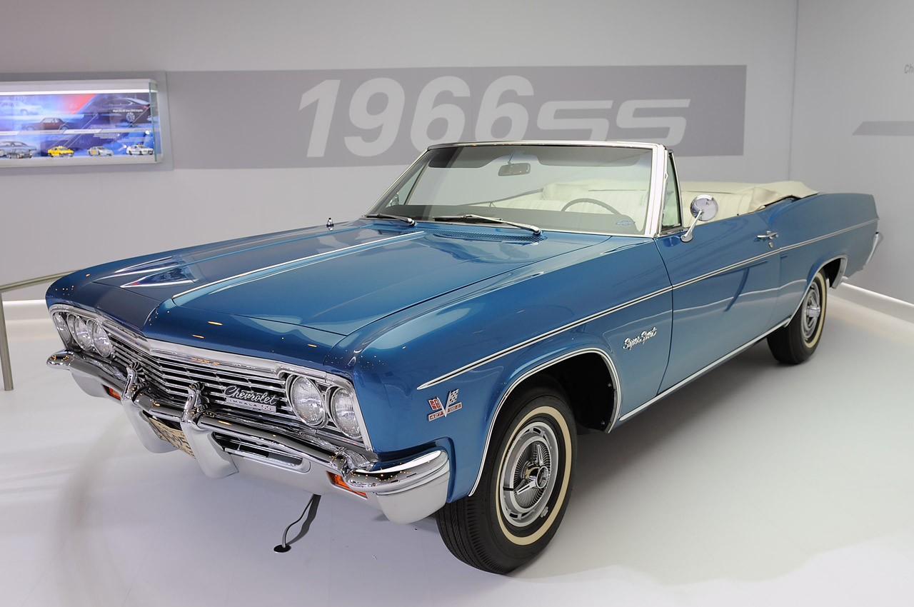 1966 Chevrolet Impala Ss 427 Convertible New York 2012