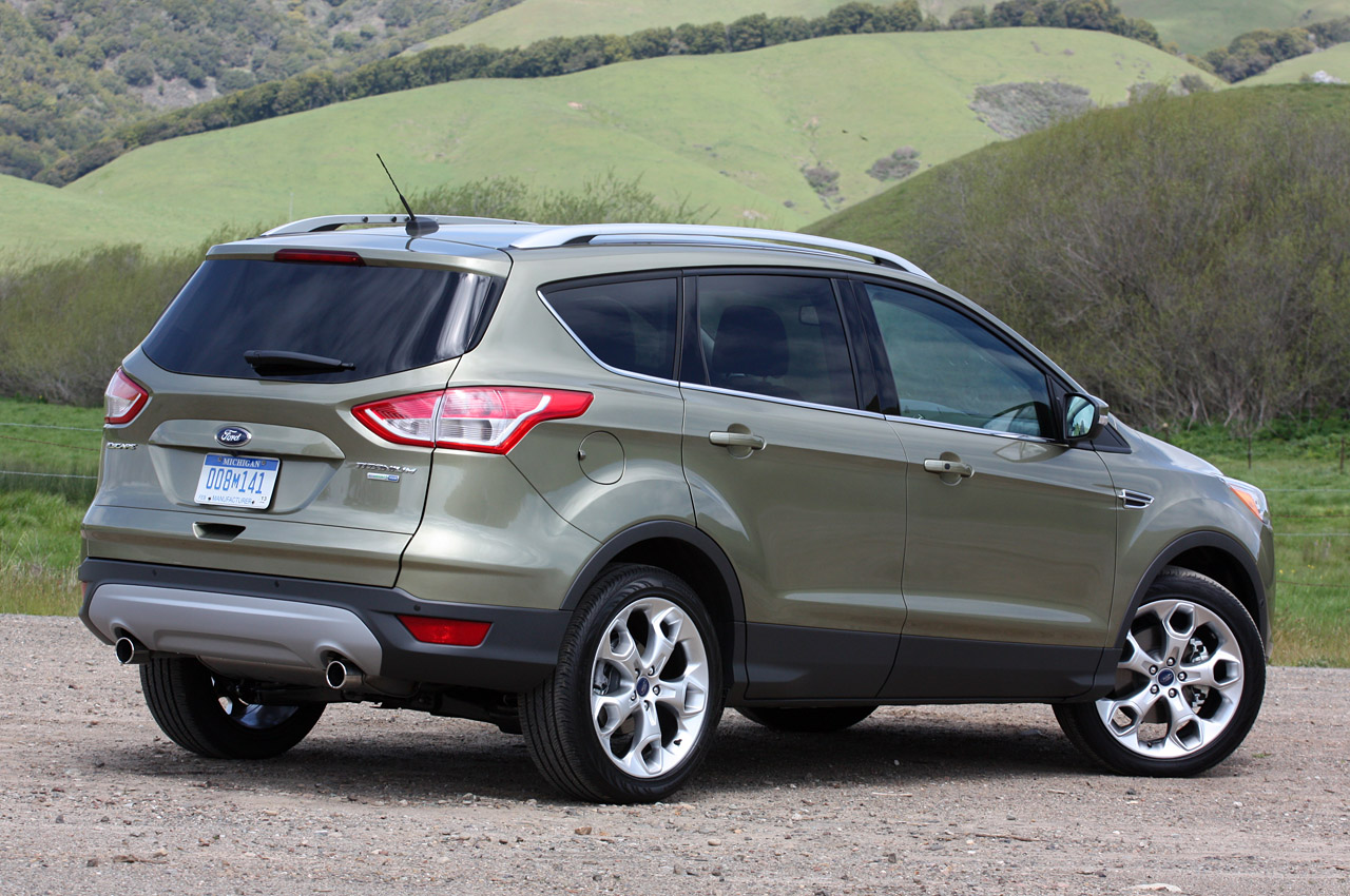 2013 ford escape 1 6l ecoboost officially rated at 23 33 mpg autoblog. Black Bedroom Furniture Sets. Home Design Ideas