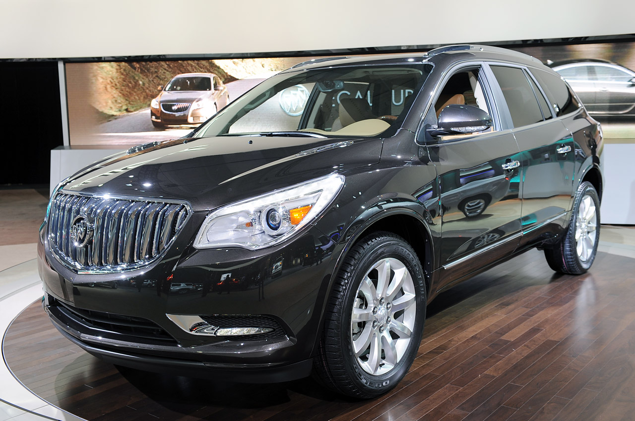 2013 buick enclave does a slightly different song and. Black Bedroom Furniture Sets. Home Design Ideas