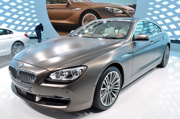 2013 BMW 6 Series Gran Coupe springy at reveal