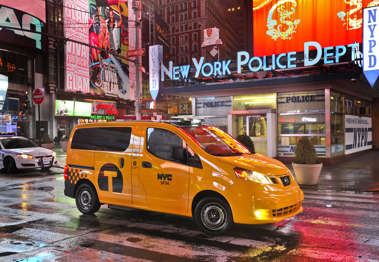 Nissan Debuts Production Nv Taxi Of Tomorrow For New Yorkers Autoblog