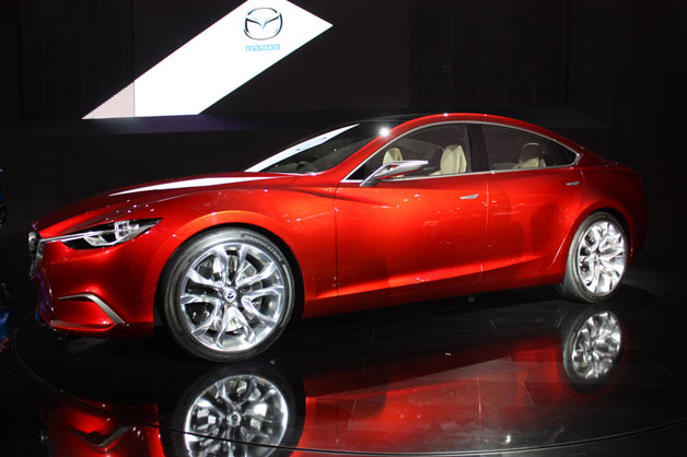 Mazda Takeri Concept - live in profile