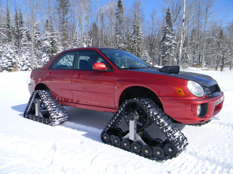 Ebay Find Of The Day 2002 Subaru Wrx Makes Tracks Into