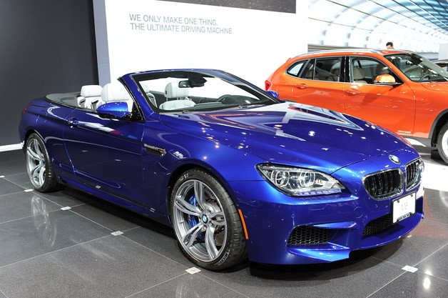 2012 BMW M6 Convertible live at New York Auto Show reveal