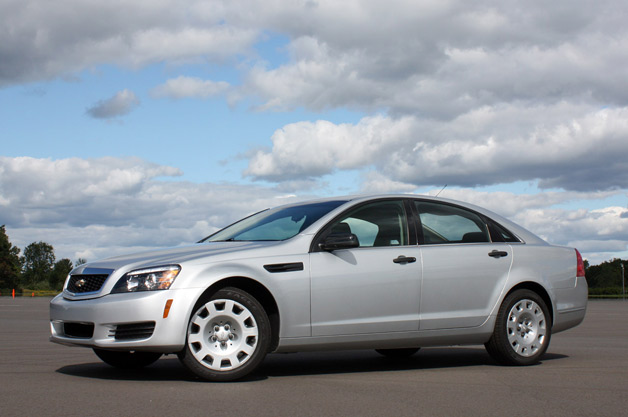2012 Chevrolet Caprice PPV - Detective's package - front three-quarter view