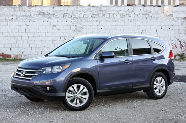 Honda CR-V edges Mazda CX-5 in Consumer Reports small CUV test [w