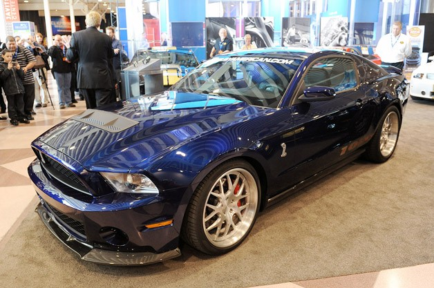 2012 Shelby 1000 - front three-quarter view - New York Auto Show reveal