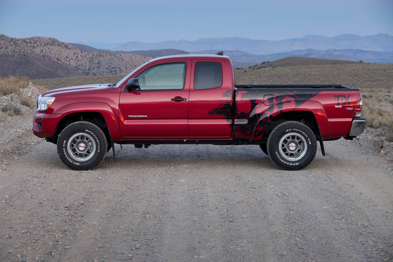 2012 toyota tacoma trd t x baja series photo gallery autoblog. Black Bedroom Furniture Sets. Home Design Ideas