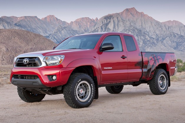 Toyota Announces Pricing for Limited Edition Tacoma Pickup TRD T/X