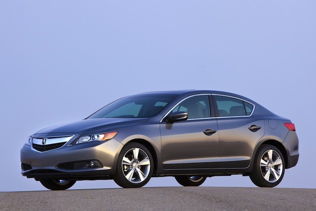 2013 Acura ILX - front three-quarter view