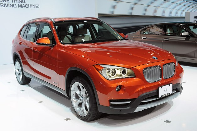 2013 BMW X1 live at New York Auto Show reveal