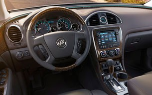 2013 Buick Enclave dashboard