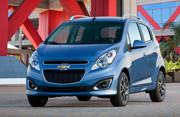 2013 Chevrolet Spark - front three-quarter view