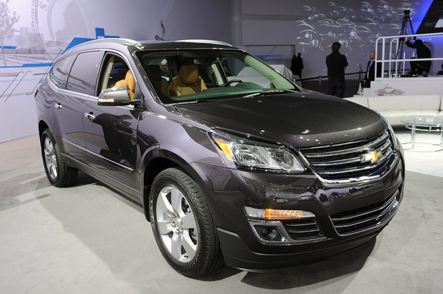 2013 Chevrolet Traverse live at New York Auto Show reveal