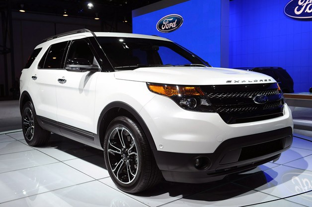 2013 ford explorer sport makes its new york auto show debut. Cars Review. Best American Auto & Cars Review