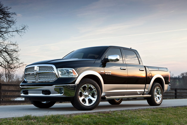 2013 Ram 1500 unveiled with eight-speed auto, start/stop, air