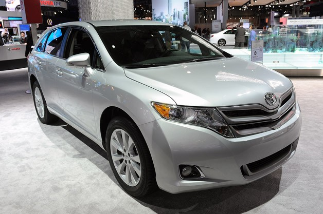 2013 Toyota Venza live at New York Auto Show reveal