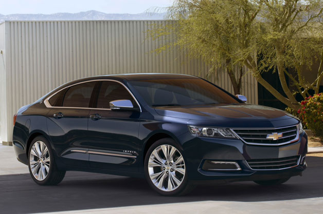 2014 Chevrolet Impala debuts all-new design - Autoblog