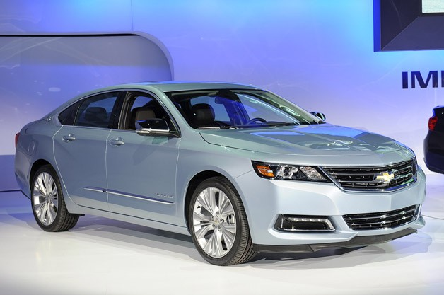2014 Chevrolet Impala - 2012 New York Auto Show reveal