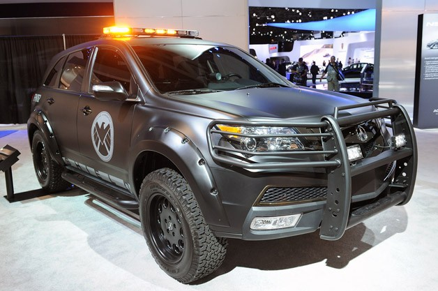S.H.I.E.L.D. Acura MDX live at New York Auto Show reveal