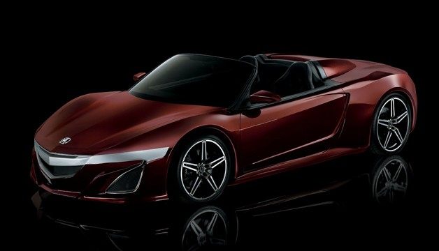 Tony Stark's Acura NSX Roadster from The Avengers