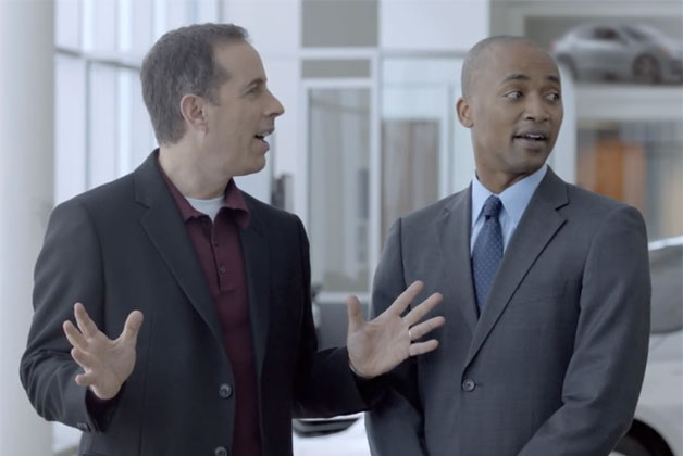 Acura's Super Bowl ad starring Jerry Seinfeld