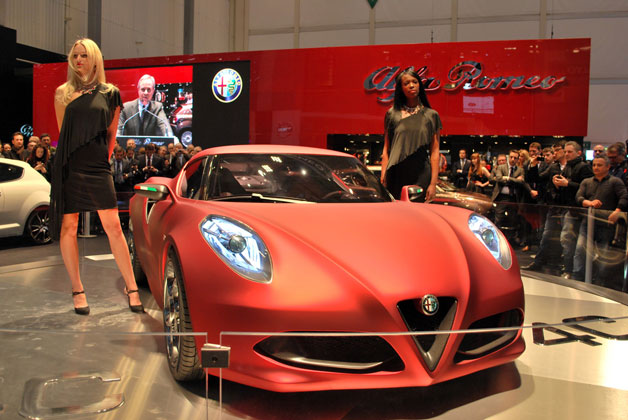 Alfa-Romeo gets 4C copyright in a U.S.