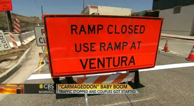 carmageddon sign