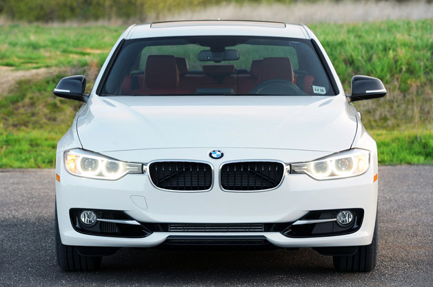 2012 BMW 328i - dead-on front view