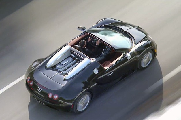 Bugatti Veyron Grand Sport Vitesse creates YouTube debut