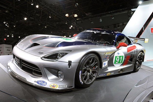 2013 SRT Viper GTS-R live at New York Auto Show reveal