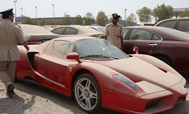 Abandoned Ferrari Enzo To Be Auctioned In Dubai