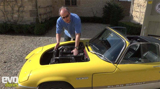 <i>EVO</i> takes the closer demeanour during Harry Metcalfe&#8217;s 1972 Lotus Elan Sprint