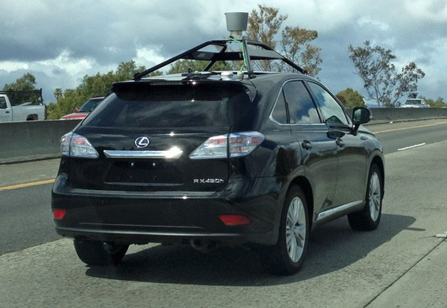 Google Autonomous Lexus RX450h