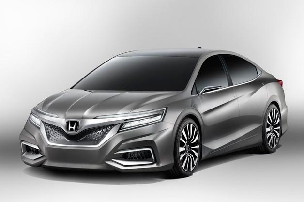 Honda Concept C - front three-quarter view