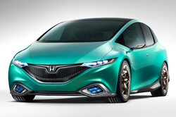 Honda Concept S - front three-quarter view