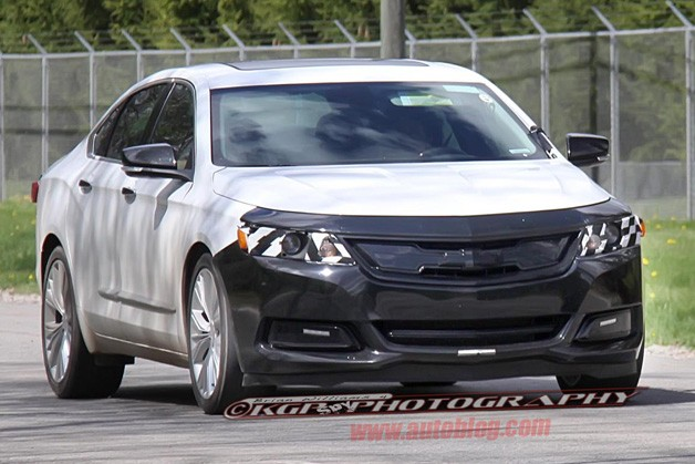2016 chevy impala ss impala spy shot is it an ss. Black Bedroom Furniture Sets. Home Design Ideas