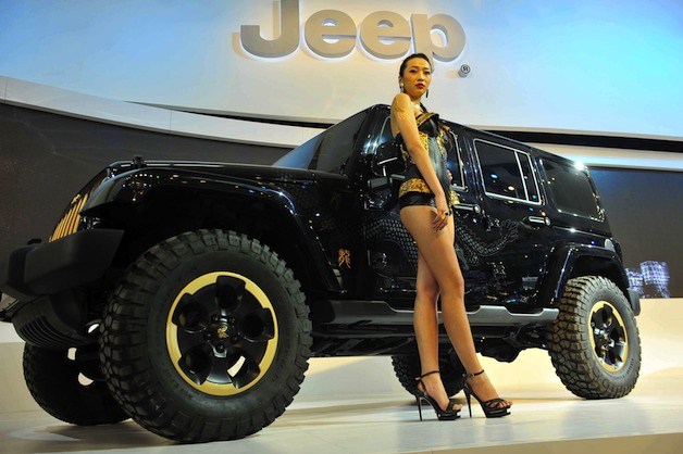 Jeep Wrangler Dragon China