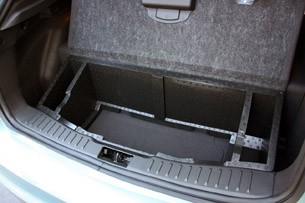 2012 Ford Focus Electric rear cargo area