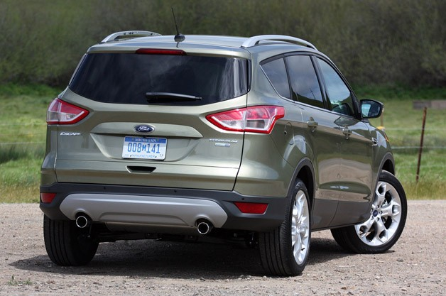 2013 Ford Escape rear 3/4 view