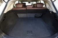 2012 Infiniti EX35 rear cargo area