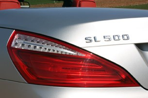 2013 Mercedes SL550 taillight