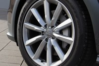 2012 Audi A6 Allroad Quattro wheel